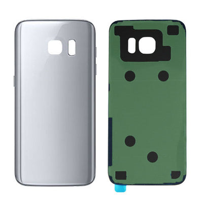Galaxy S7 G930 Battery Cover w/Adhesive (SILVER)