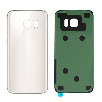 Galaxy S7 G930 Battery Cover w/Adhesive (WHITE)
