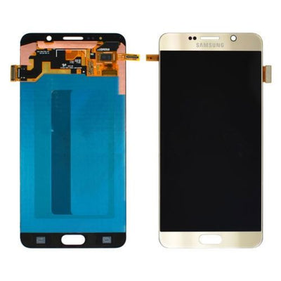 Genuine Gold Samsung Galaxy Note 5 LCD & Touch Screen Glass Digitizer Assembly