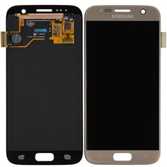 Genuine LCD Screen & Digitizer Assembly, Gold, for Samsung Galaxy S7