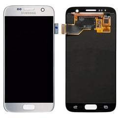 Genuine LCD Screen & Digitizer Assembly, Sliver, for Samsung Galaxy S7