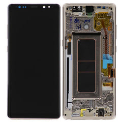 Genuine Samsung Galaxy Note 8 LCD Digitizer Display Assembly with front housing, Silver