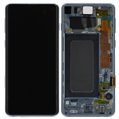 Genuine Samsung Galaxy S10 LCD Digitizer Assembly, Blue