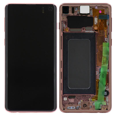 Genuine Samsung Galaxy S10 LCD Digitizer Assembly, Pink