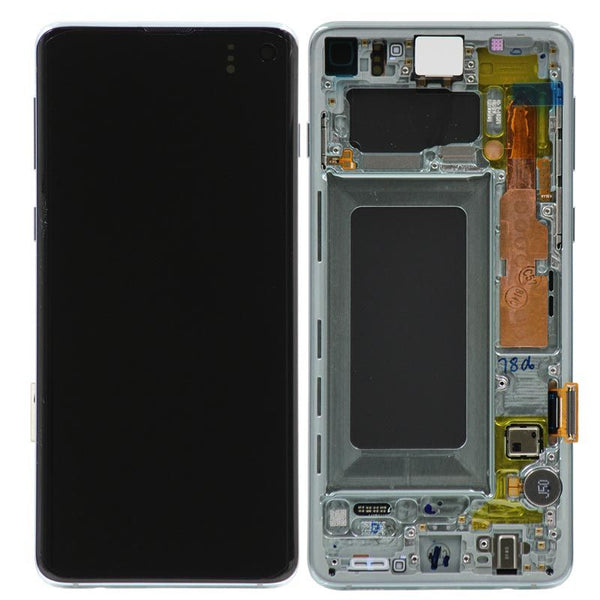 Genuine Samsung Galaxy S10 LCD Digitizer Assembly, Prism Green
