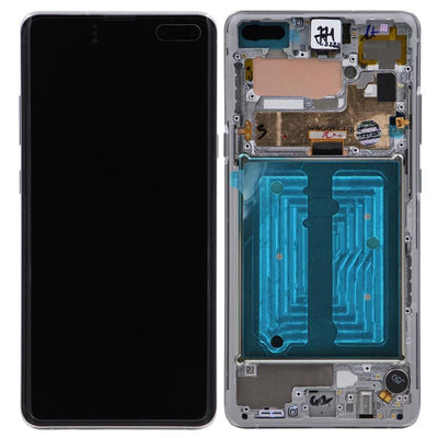 Genuine Samsung Galaxy S10 Plus 5G LCD Digitizer Assembly, Silver