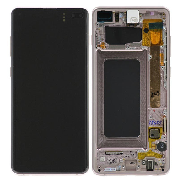 Genuine Samsung Galaxy S10 Plus LCD Digitizer Assembly, Ceramic / White