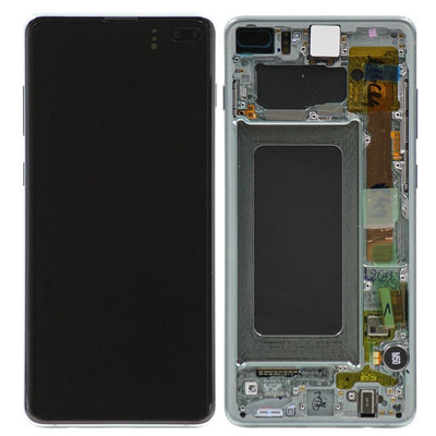 Genuine Samsung Galaxy S10 Plus LCD Digitizer Assembly, Prism Green