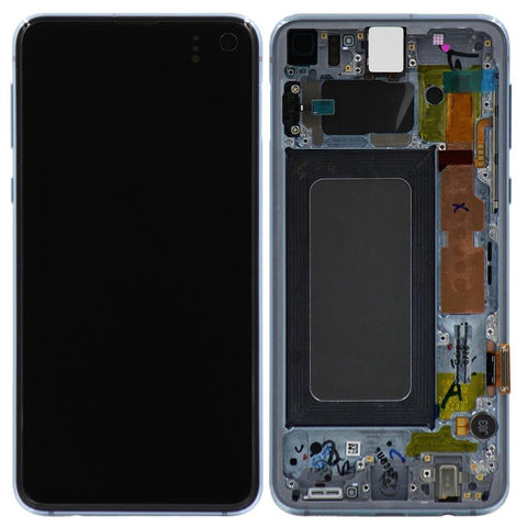 Genuine Samsung Galaxy S10e LCD Digitizer Assembly, Blue