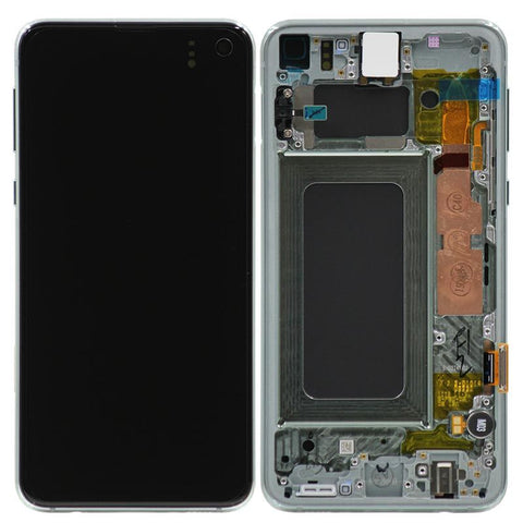 Genuine Samsung Galaxy S10e LCD Digitizer Assembly, Prism Green