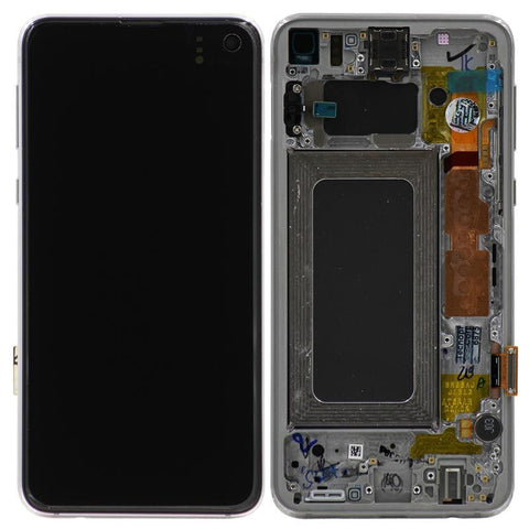 Genuine Samsung Galaxy S10e LCD Digitizer Assembly, Silver