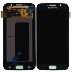 Genuine Samsung Galaxy S6 LCD Screen & Digitizer Assembly, Black/Blue