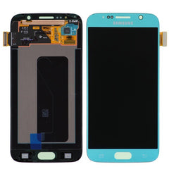 Genuine Samsung Galaxy S6 LCD Screen & Digitizer Assembly, Light Blue