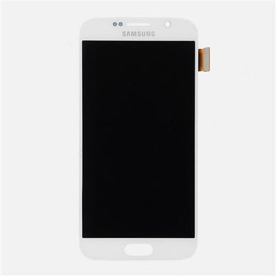 Genuine Samsung Galaxy S6 LCD Screen & Digitizer Assembly, White