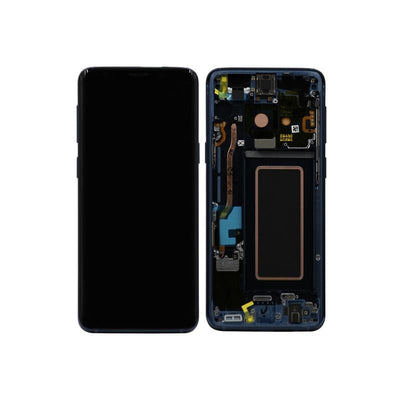 Genuine Samsung Galaxy S9 LCD Digitizer Assembly, Blue
