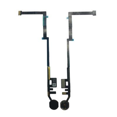 Home Button Flex Cable for the iPad 5 (2017) / iPad 6 (2018) , Black