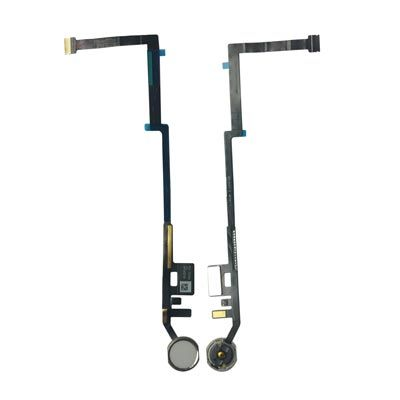 Home Button Flex Cable for the iPad 5 (2017) / iPad 6 (2018), White