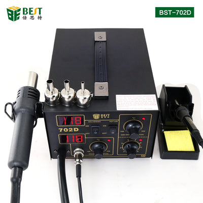 Hot air soldering rework station with digital display BST-702D