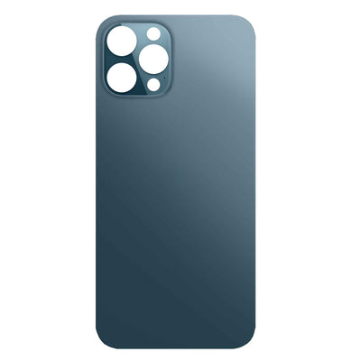 iPhone 12 Pro Max Replacement Back Glass Wide Camera Lens Hole (Blue)