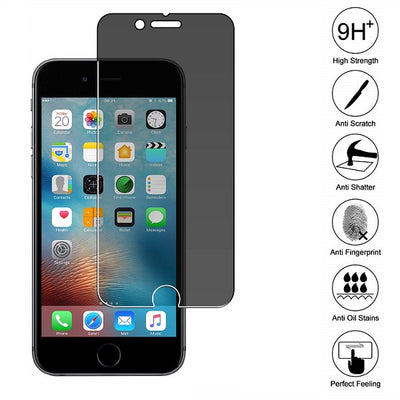 iPhone 6/7/8 Premium Tempered Glass Screen Protector (Privacy) (4162662301760)