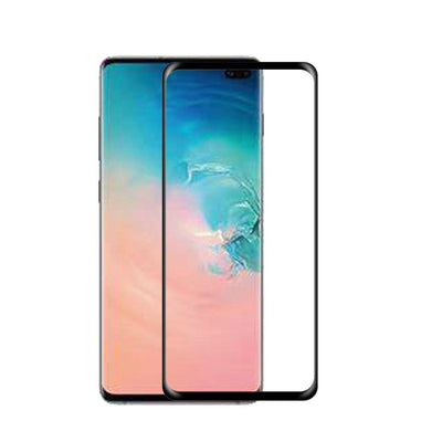 SAMSUNG GALAXY S10 PLUS - FULL COVERED EDGE TO EDGE - 0.33MM PREMIUM TEMPERED GLASS SCREEN PROTECTOR (4184311103552)