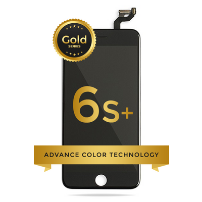 iPhone 6S Plus LCD Digitizer Assembly Gold Series Premium Quality Retail Pack (Black)