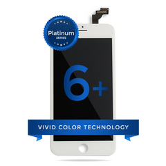 iPhone 6 Plus LCD Digitizer Assembly Platinum Series (White)