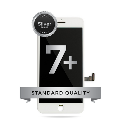 IPhone 7 Plus (ZY BRAND) LCD Digitizer Assembly Silver Series Standard Quality (White)
