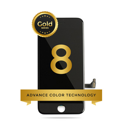 iPhone 8/ SE 2020 LCD Digitizer Assembly Gold Series Premium Quality Retail Pack (Black)