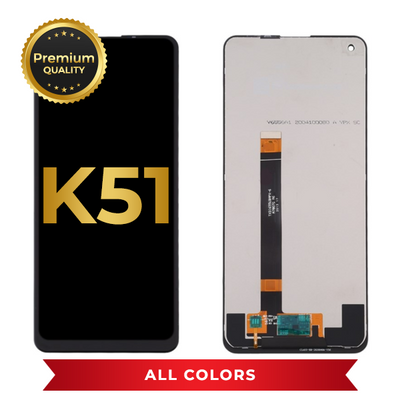 LCD Assembly Without Frame For LG K51 (All Colors)
