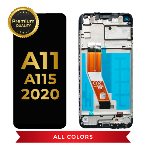 OLED Assembly With Frame For Samsung Galaxy A11(A115 / 2020) (All Colors)