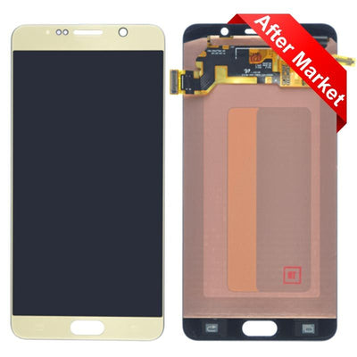 LCD & Digitizer Assembly for, Gold, Samsung Galaxy Note 5