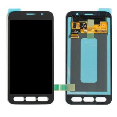 LCD Display Touch Screen Glass Lens Digitizer Assembly, Black, for Samsung Galaxy S7 Active G891