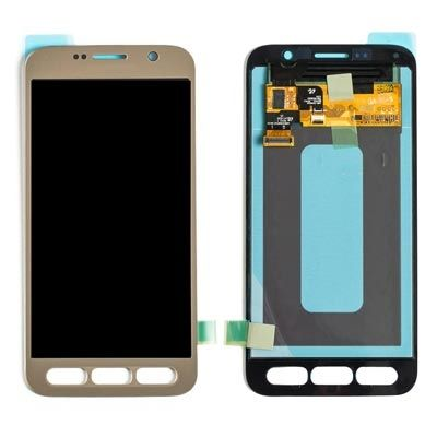 LCD Display Touch Screen Glass Lens Digitizer Assembly, Gold, for Samsung Galaxy S7 Active G891
