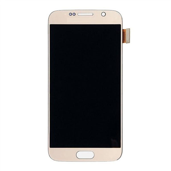 LCD Screen & Digitizer Assembly, Gold, for Samsung Galaxy S6 G920