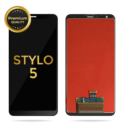 LG Stylo 4, Stylo 4 Plus & Stylo 5 Replacement LCD Display Touch Screen Glass Lens Digitizer Assembly (Black)
