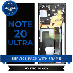 Service Pack - OLED Screen Assembly for Samsung Note 20 Ultra (Mystic Black)