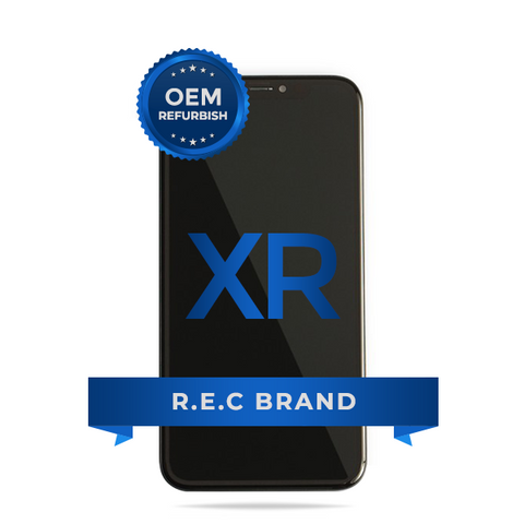 iPhone XR LCD Screen Replacement Assembly (OEM Refurbish) - R.E.C BRAND