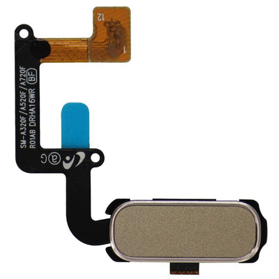Replacement Galaxy A5 2017 Home Button with Flex Cable (Gold)
