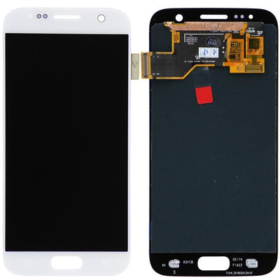 Replacement LCD Screen & Digitizer Assembly, White for Samsung Galaxy S7