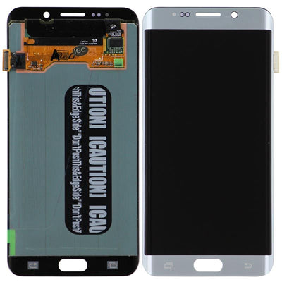 Replacement Samsung Galaxy S6 Edge + Plus LCD Screen & Digitizer Assembly, Silver