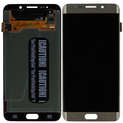 Replacement Samsung Galaxy S6 Edge + Plus LCD Screen & Digitizer Assembly, Gold