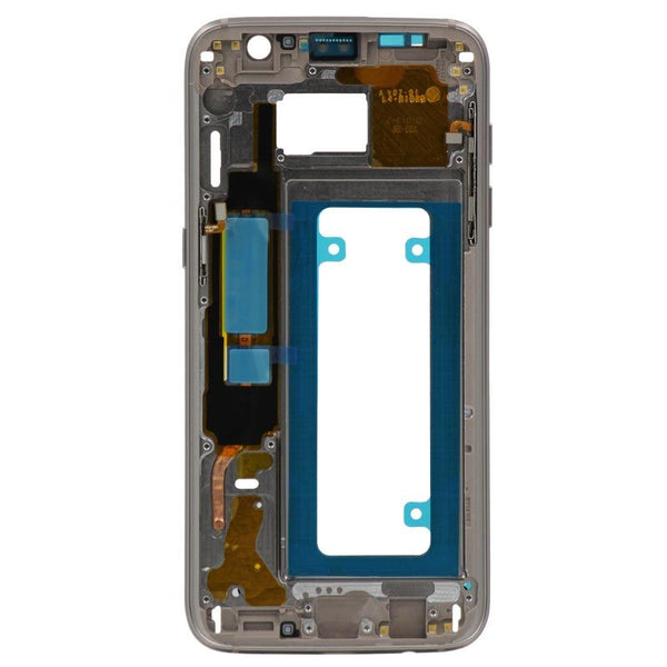 Replacement Samsung Galaxy S7 Edge Mid Frame, Gold