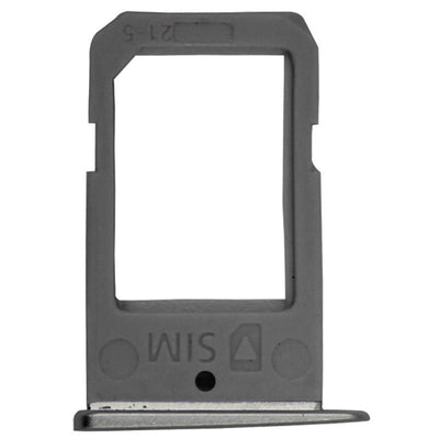 Replacement Sim Card Tray Silver, For Galaxy S6 Edge