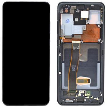Genuine Samsung Galaxy S20 Ultra LCD Digitizer Assembly, Black