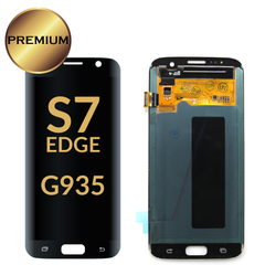 Samsung Galaxy S7 Edge LCD Digitizer Assembly (Black) Without Frame