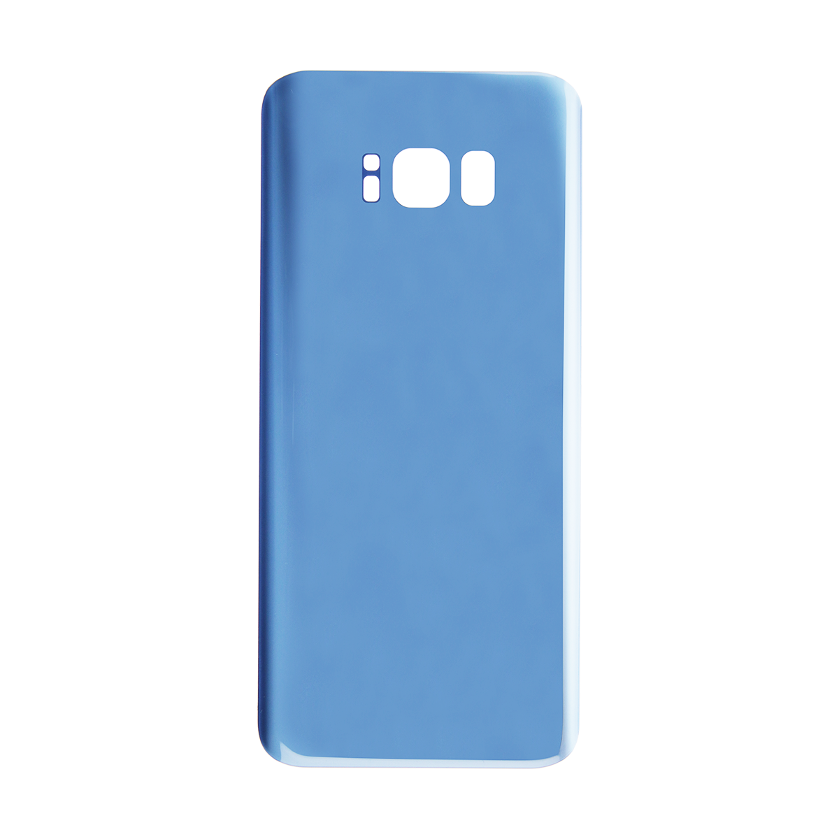 Samsung Galaxy S8 Back Glass With Adhesive (Blue)