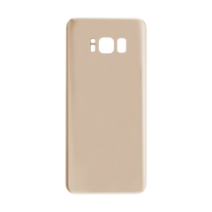 Samsung Galaxy S8 Back Glass With Adhesive (Gold)