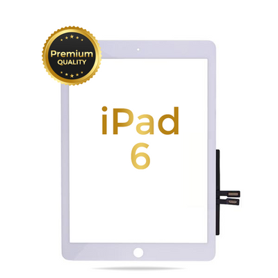 iPad 6 (2018) Premium Aftermarket Quality Replacement Glass and Digitizer Touch Panel