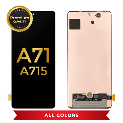 OLED Assembly Without Frame For Samsung Galaxy A71 (A715 / 2020) (All Colors)